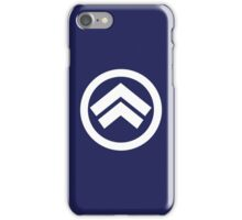 Valkyria Chronicles Shocktrooper's Class Logo iPhone Case/Skin