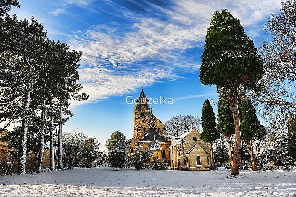 St. Edward's Catholic Church  by Gouzelka