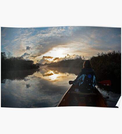 Tranquil morning Poster