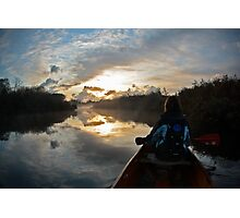 Tranquil morning Photographic Print