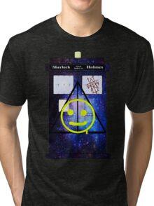 Sherlock Holmes Harry Potter Doctor Who Tri-blend T-Shirt