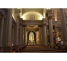 Blessed Virgin Mary at St. Ignatius Church, San Francisco Photographic Print