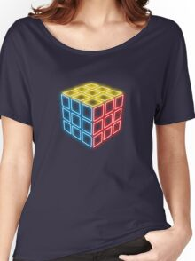 Neon Rubix Remix Women's Relaxed Fit T-Shirt