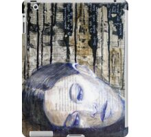 Black Thoughts iPad Case/Skin