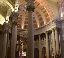St. Ignatius Church, nave, San Francisco by kristalmania