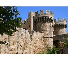 Palace of the Grand Masters in Rhodes Photographic Print