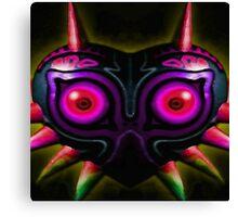 majora's shadow mask Canvas Print
