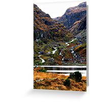 Meandering Through - Gap of Dunloe Greeting Card