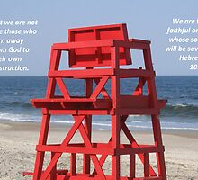 Atlantic Beach Lifeguard Chair by Photos4God