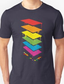 R A I N B O W . T O W E R . Unisex T-Shirt