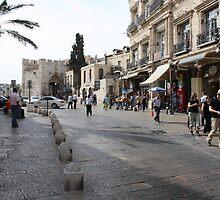 Yaffa Gate by milzi