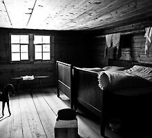 Rustic bedroom by Mario Curcio