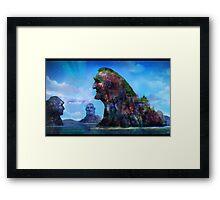 Troll Lake Framed Print