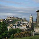 Edinburgh From Calton Hill by Lynne Morris