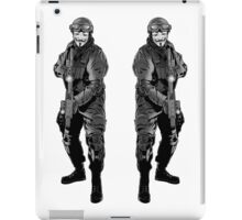 Anonymous Soldier iPad Case/Skin