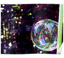 Confetti Bubble Poster