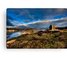 The Guardian of East Loch Canvas Print