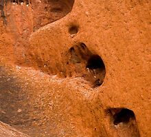 Weathered Hearts - Uluru by Dilshara Hill