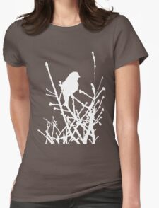 Cardinal White Womens Fitted T-Shirt
