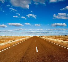 Outback Highway - Central Australia by Dilshara Hill