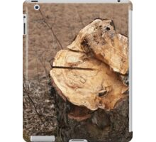 stump alder iPad Case/Skin