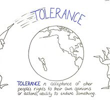 Tolerance, demands tolerance. by benzizzle2