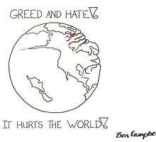 Greed and hate! by benzizzle2