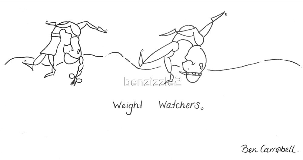 Literally watching your weight. by benzizzle2
