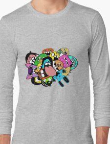 Lick Monster Colour Long Sleeve T-Shirt