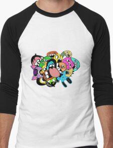 Lick Monster Colour Men's Baseball ¾ T-Shirt