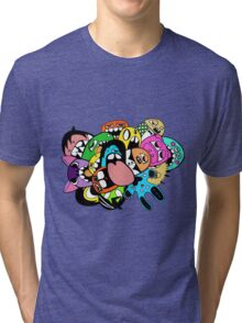 Lick Monster Colour Tri-blend T-Shirt