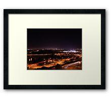 Northern Lights Edmonton Framed Print