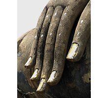 Hand of Buddha Photographic Print