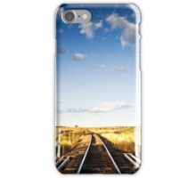 There's a Track Winding Back - Inglewood Qld Australia iPhone Case/Skin