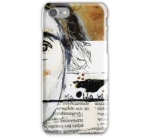Unspoken Words iPhone Case/Skin
