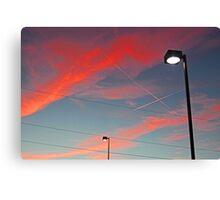 ELECTRICITY #2 Canvas Print