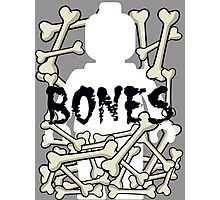 'Minifig Bones' Photographic Print