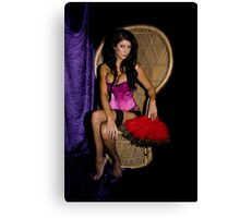 Georgie Burlesque Canvas Print