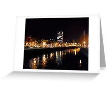 Dublin Night Vision-Ireland Greeting Card