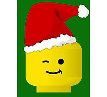 Santa Minifig by Customize My Minifig Photographic Print