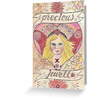 Precious Jewell Greeting Card