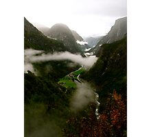 Tranquil Valley Photographic Print