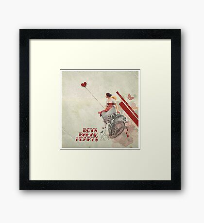 Boys Break Hearts Framed Print