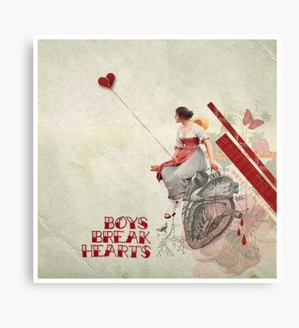 Boys Break Hearts Canvas Print