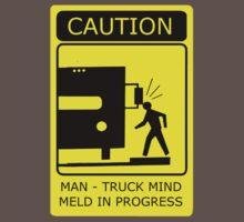 Man Truck Mind Meld by Octochimp Designs
