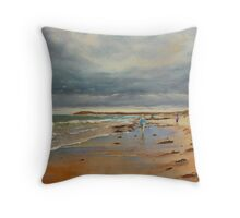 Breamlea Beach near Torquay, Victoria Throw Pillow