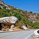 Road by Tunnel Rock by Nickolay Stanev