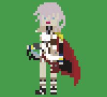 Final Fantasy XIII Lightning 8-bit by Master-ZuZu