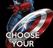 Civil War - Captain America by AvatarSkyBison