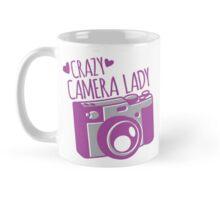 Crazy Camera Lady Mug